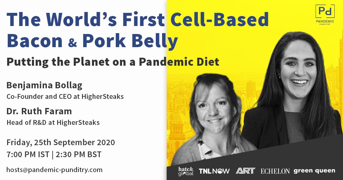 Benjamina Bollag & Dr. Ruth Faram Higher Steaks