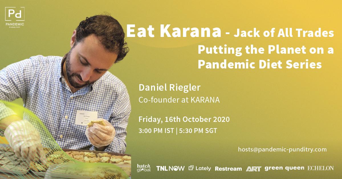 Daniel Riegler- Eat Karana - Jack of all Trades