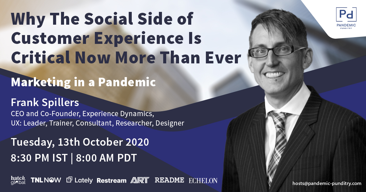 Frank Spillers - Why the Social Side of Customer Experience Matters