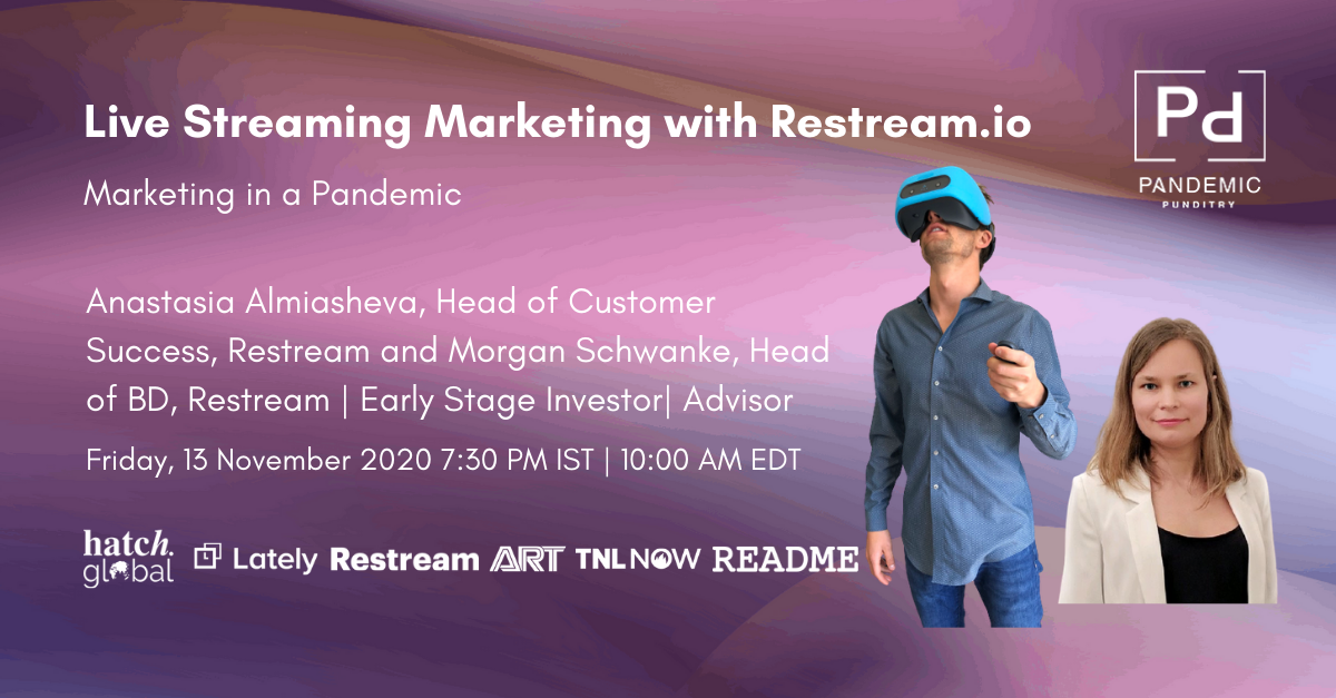 Live Streaming Marketing with Restream.io
